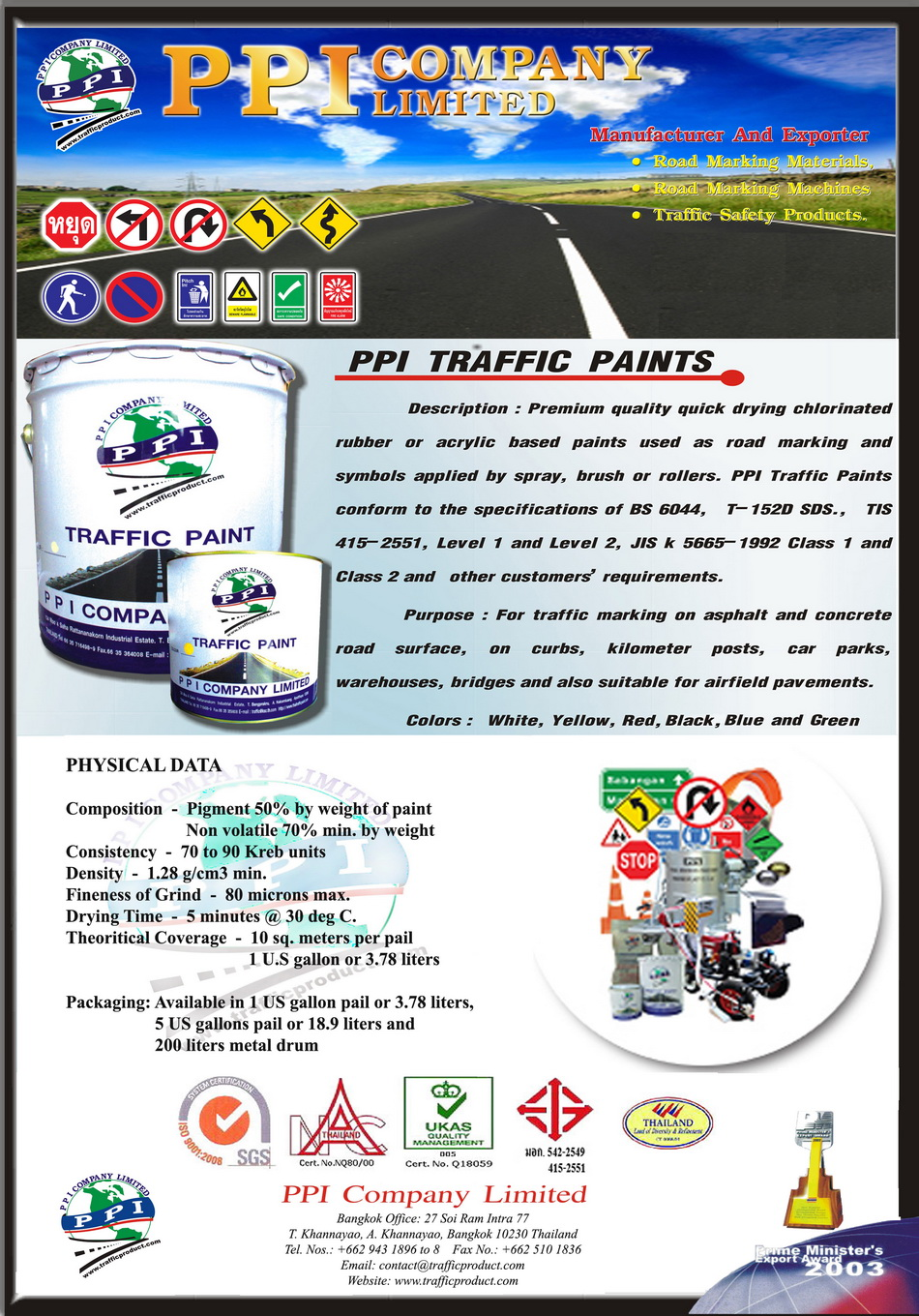 Thermoplastic Paint Traffic Paint Cold Plastic Road